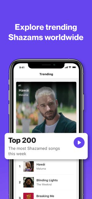 Shazam: Music Discovery Screenshot