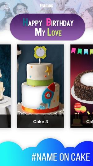 Birthday Cake Photo Frame 2018 On The App Store