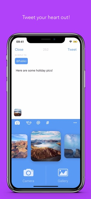 Bluebird - Twitter Client Screenshot