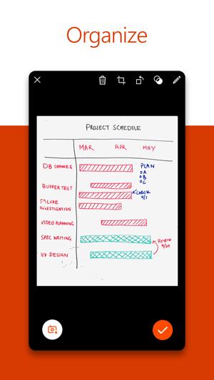 Microsoft Office Lens|PDF Scan Screenshot
