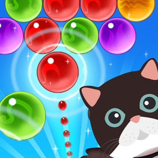 cat bubble shooter the