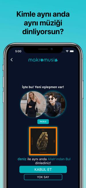 makromusic for Spotify & Müzik Screenshot
