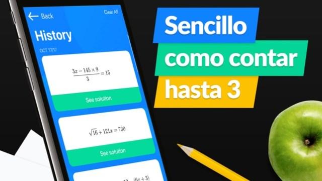 SnapCalc: Resolver matemáticas Screenshot