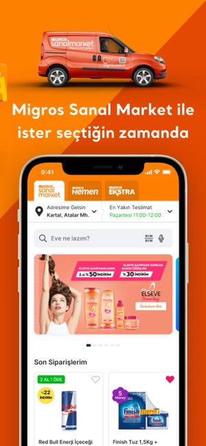 Migros: Sanal Market - Hemen Screenshot