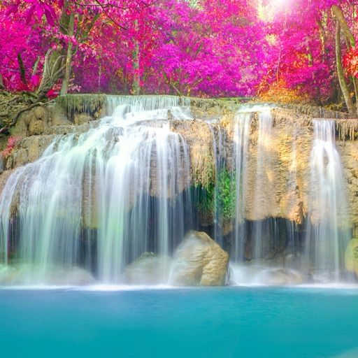 Fall Wallpaper Photos Microsoft Waterfall Wallpapers Waterfalls Of The World By Space 0