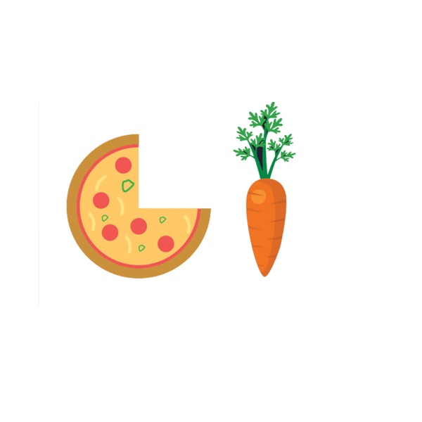Food Eat Fruits and Vegetables Stickers Pack