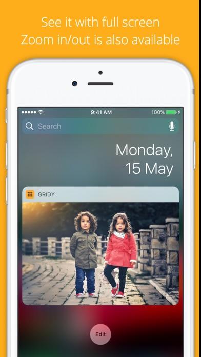 GRIDy - Photo Widget : GIF Screenshot