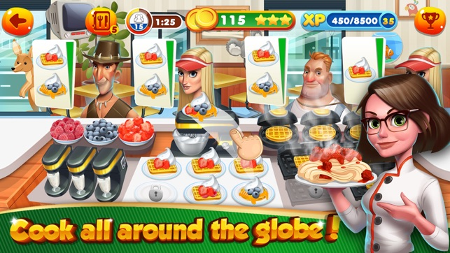 kitchen cooking games lowes cabinets in stock fast food top burger chef on the app store 4