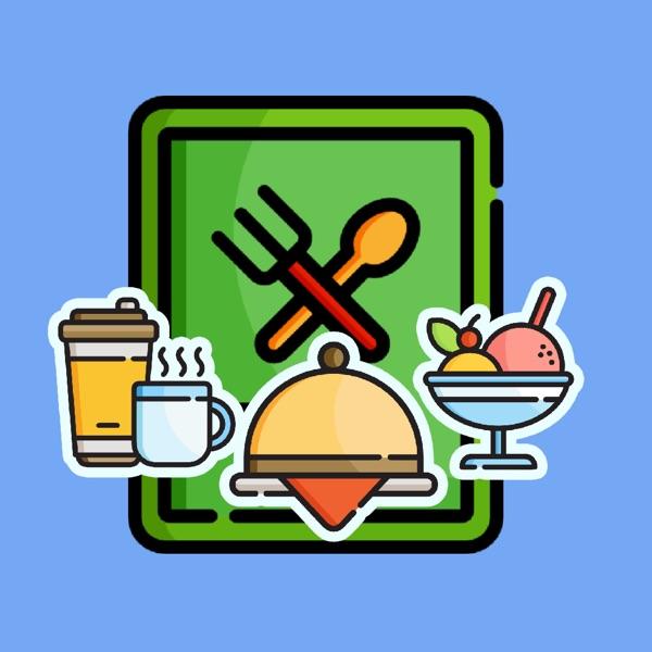Foodie Restaurant Stickers
