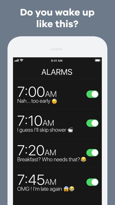 kiwake extreme alarm clock