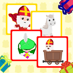 Sinterklaas Geheugen Spelletje