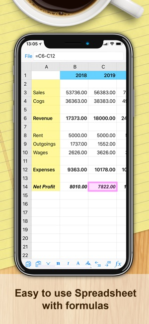 iSpreadsheet™ : Office Sheets on the App Store