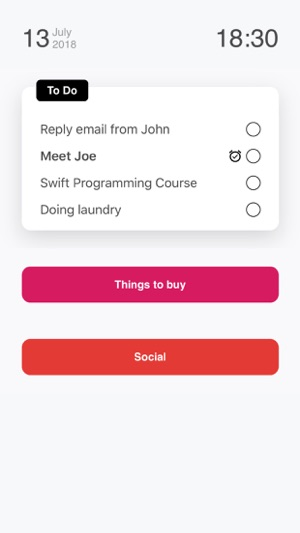 Listify - Simple Todo App Screenshot