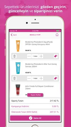Dermokozmetika Screenshot