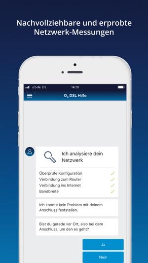 o2 DSL Hilfe Screenshot