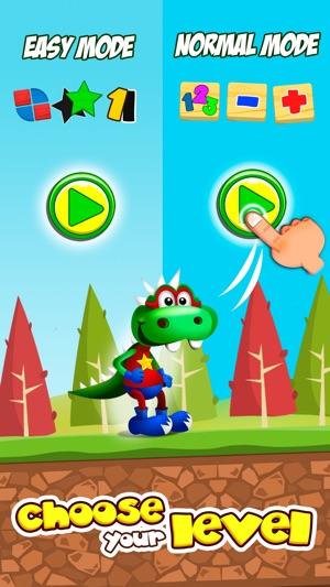 DinoTim: Basic math activities Screenshot