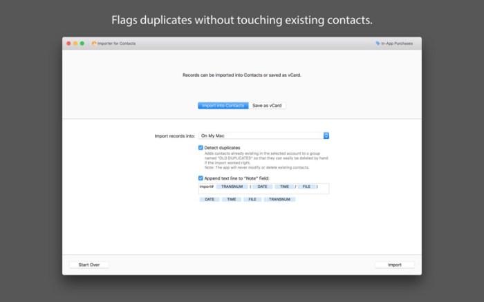 Importer for Contacts Screenshot 03 nbq1wqn