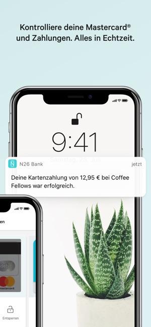 N26 – Die mobile Bank Screenshot