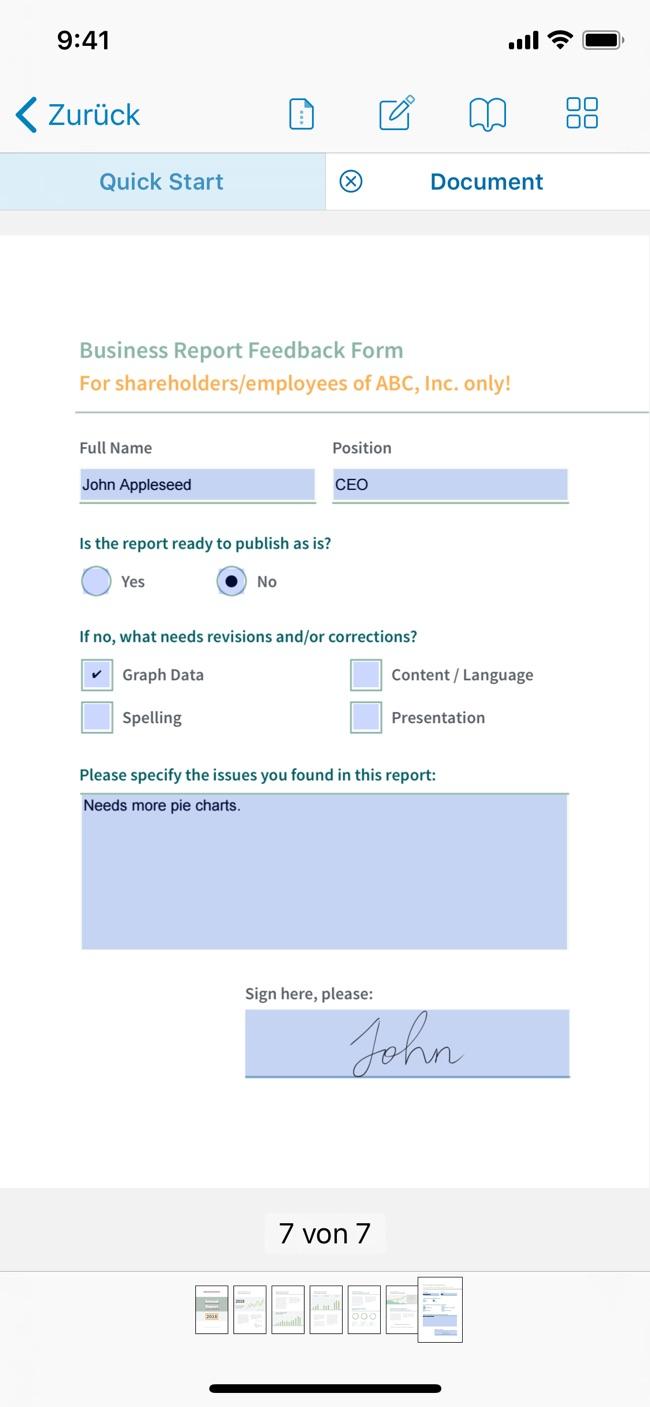 PDF Viewer by PSPDFKit Screenshot