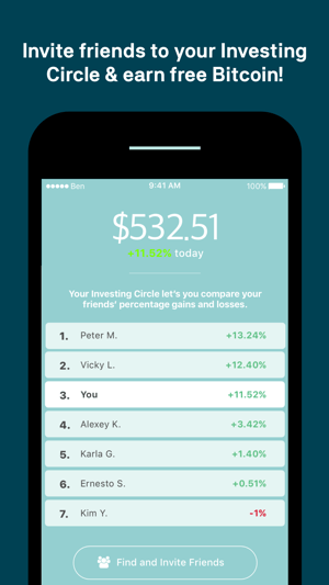 Buy Bitcoin & Ether with Ben Screenshot