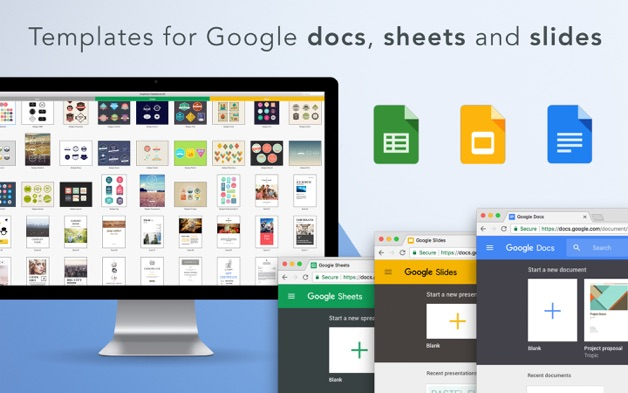 Google Docs Templates by GN for Mac 4.1 破解版 - Google文档模板