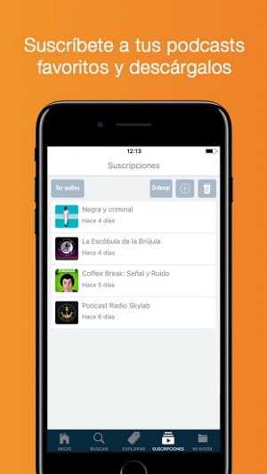 Radio y Podcast iVoox Screenshot