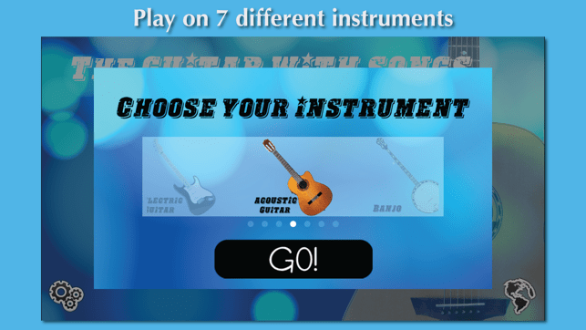 ‎The Guitar with Songs Screenshot