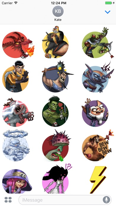 dragonsoul sticker app profile