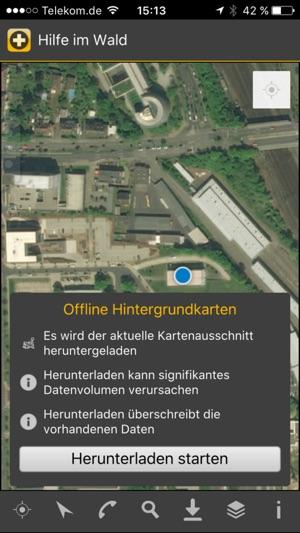 Hilfe im Wald Screenshot