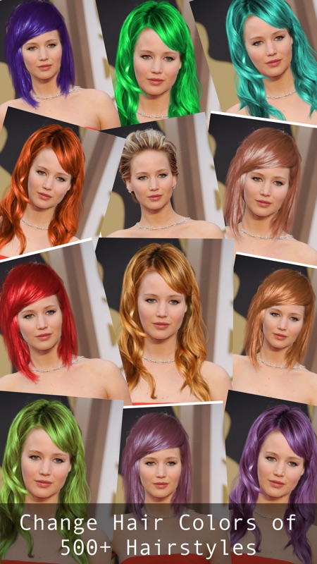 hair editor color changer