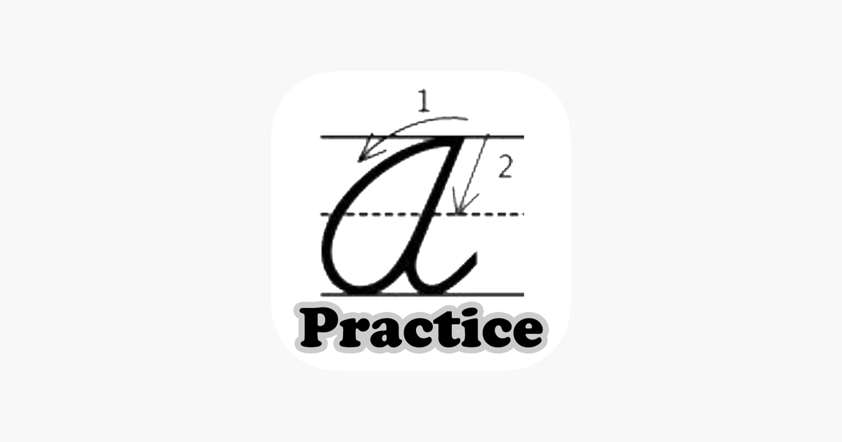 ‎A to Z Cursive Writing Worksheets on the App Store