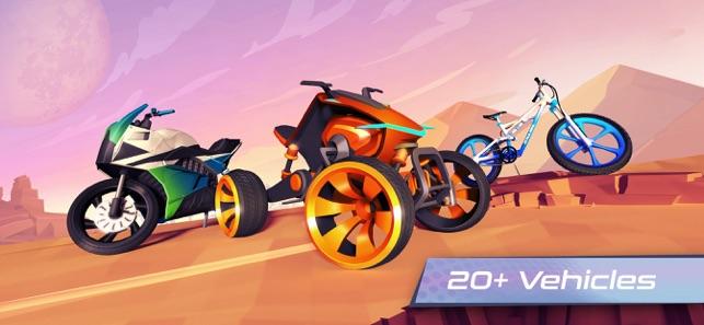 Gravity Rider Zero Screenshot