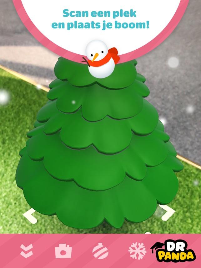 Dr. Panda AR Kerstboom Screenshot