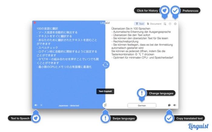 Linguist: Easy Translate App Screenshot 02 lg2i78n
