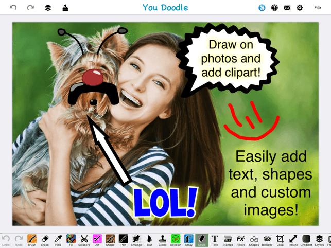 You Doodle - draw on photos Screenshot