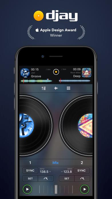 djay - DJ App & AI Mixer Screenshot 01 57tpe1n