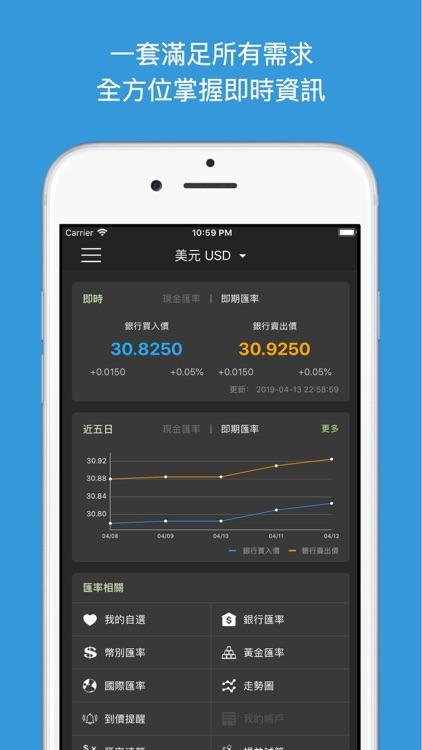 臺灣匯率通-最即時銀行匯率到價提醒 by KUAN TING LIU