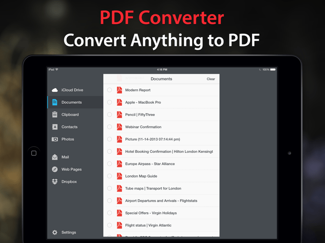‎PDF Converter by Readdle Screenshot