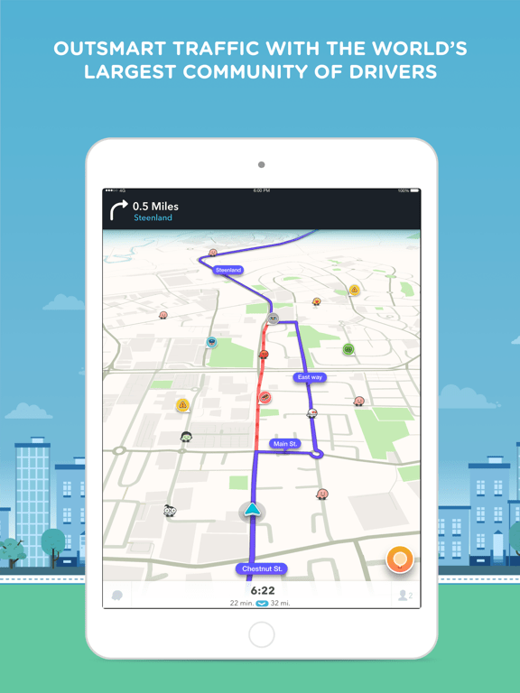 Cool App Update: Waze for iPhone and iPad (Morgan Freeman