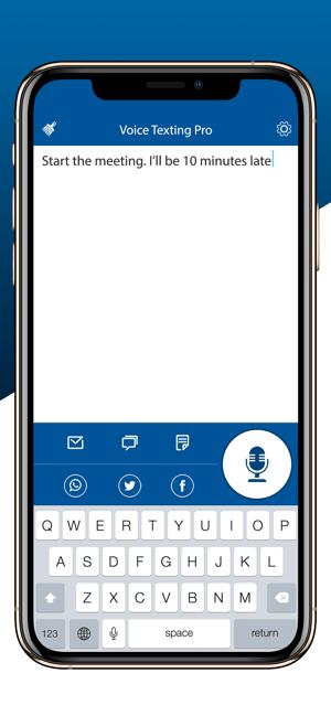 Voice Texting Pro Screenshot