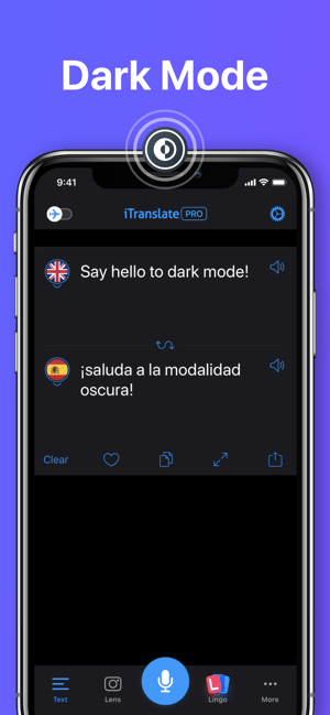 ‎iTranslate Translator Screenshot