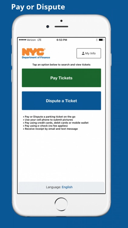 Nyc Finance Pay Ticket : finance, ticket, Dispute, Department, Finance