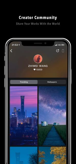 Clarity Wallpaper Screenshot