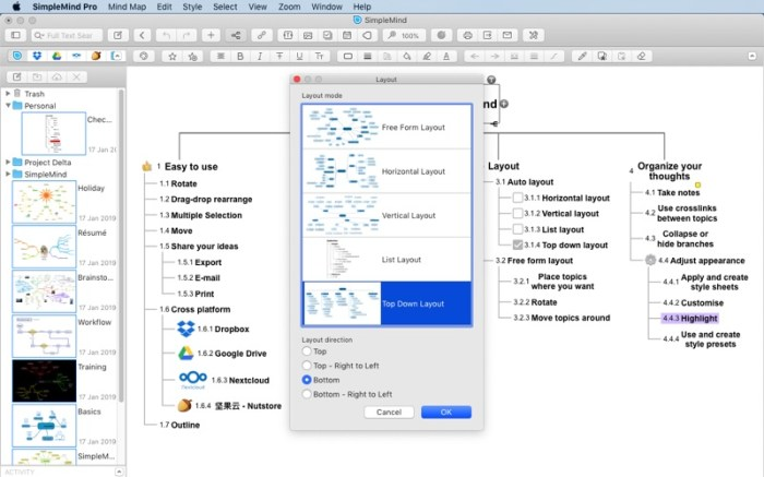 SimpleMind - Mind Mapping Screenshot 3 puand7y