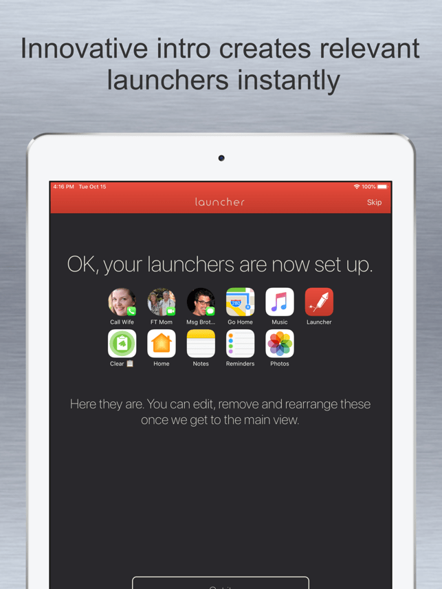 Launcher with Multiple Widgets Screenshot