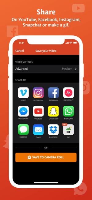 Videoshop - Video Editor Screenshot