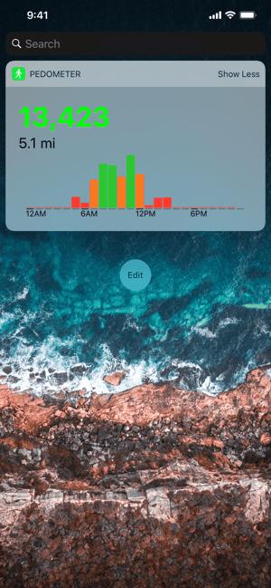 Pedometer++ Screenshot