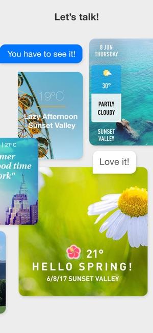 WeatherShot Pro Screenshot