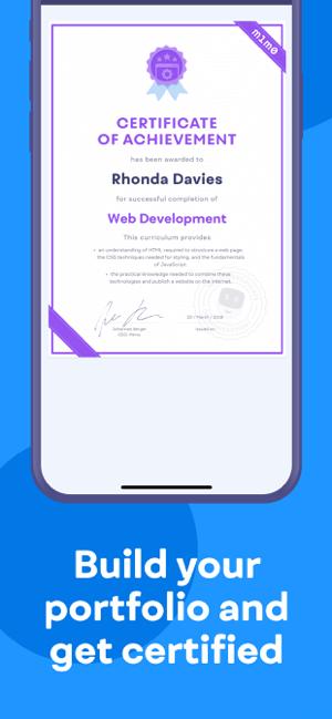 Mimo: Learn Coding/Programming Screenshot