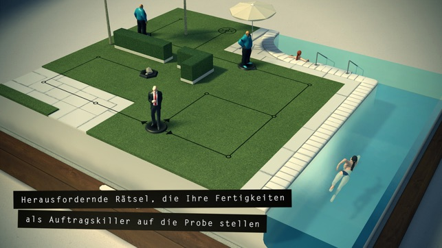 ‎Hitman GO Screenshot